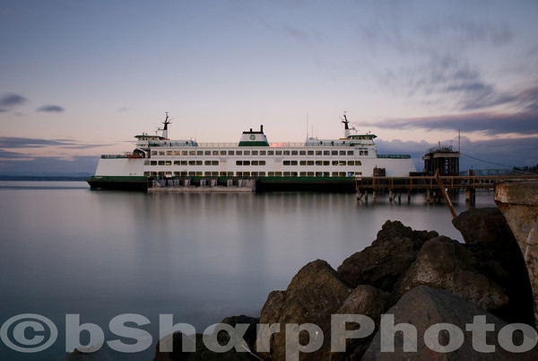 Ferry at Mukilteo