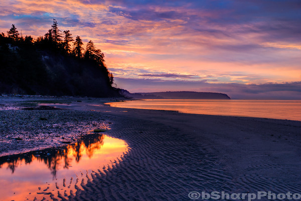 Sunrise on Whidbey Island